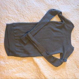 Lululemon reversible boatneck sweater